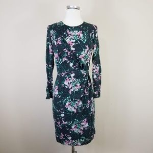 Whistles Floral Silk Sheath Dress 6